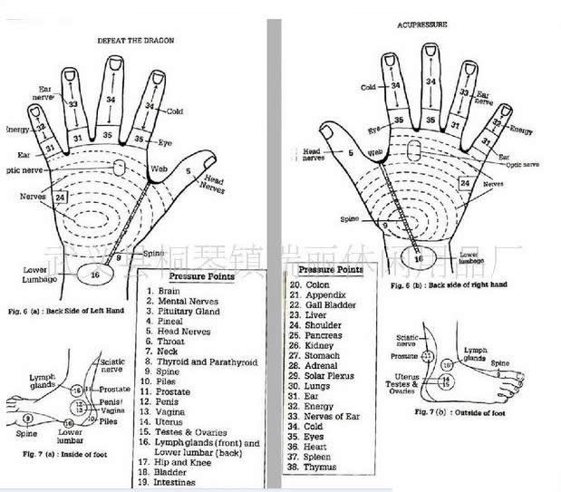 Finger Massage,Acupuncture And Acupressure Ring Gw-r01