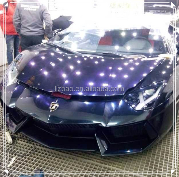 Auto car anti scratch paint protective invisible film for Car paint protection film cost
