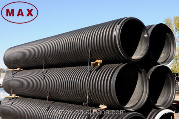 160mm Hdpe Corrugated Drainage Pipe/ Subsoil Drainage Pipe Hdpe ...
