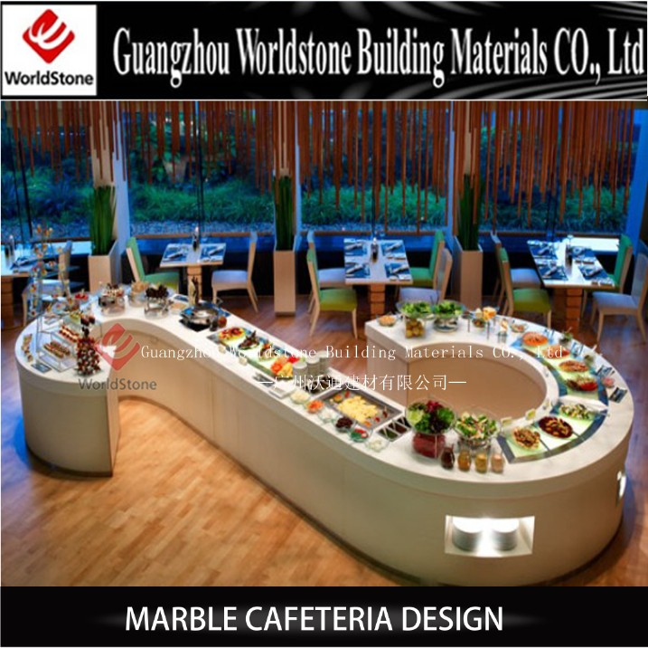 Buffet display equipment coffee shop furniture