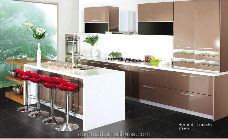 New model kitchen cabinet aluminium kitchen cabinet doors for Model kitchen set aluminium
