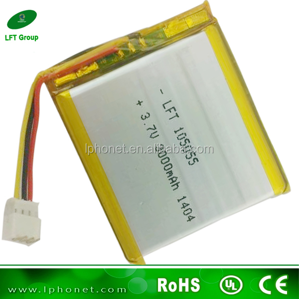 Single Lipo Cell 506080 3000mah Battery 3.7v Li-ion Battery For ...