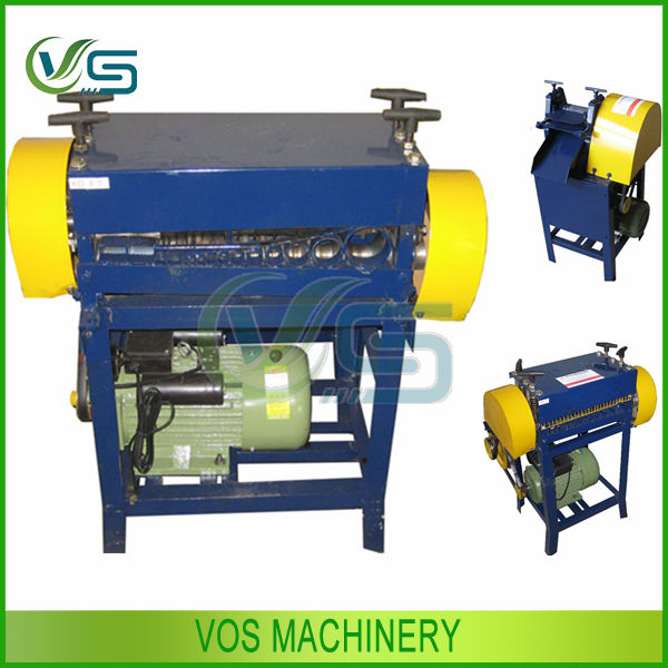 Scrap Wire Stripping Machine/copper Wire Recycling/scrap Cable Wire ...
