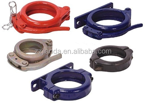 Schwing concrete pump pipe quick release clamps buy