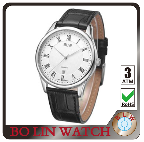 classic watch, genuine leather watch, stainless steel watch