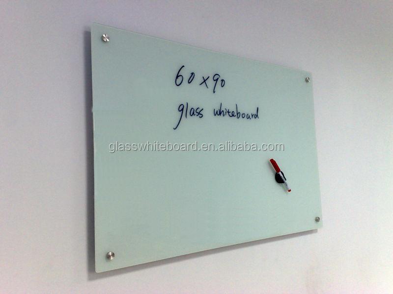 portable tempered glass note board - Glass Dry Erase Board