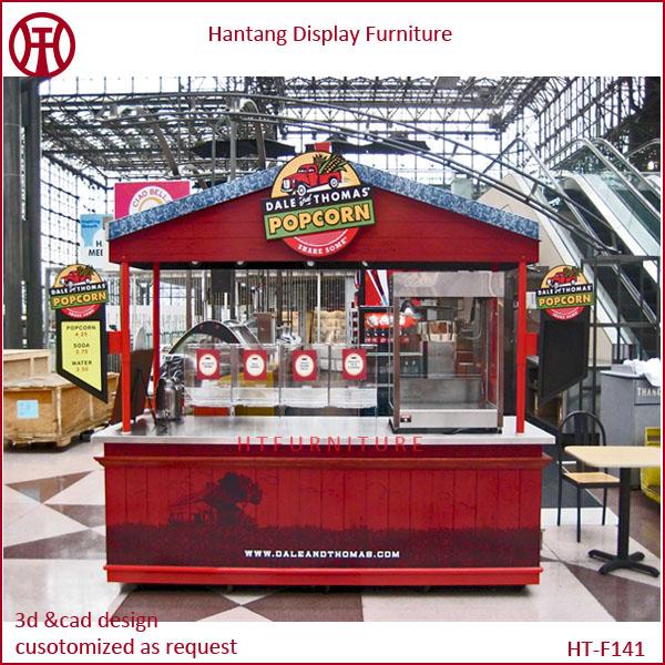 Popcorn Kiosk Display In Shop Mall Center 10x10 Feet Buy