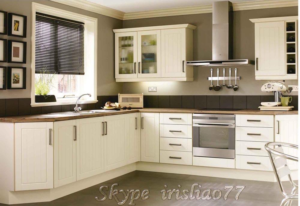 Pvc Kitchen Cabinets : White pvc coated kitchen cabinets buy
