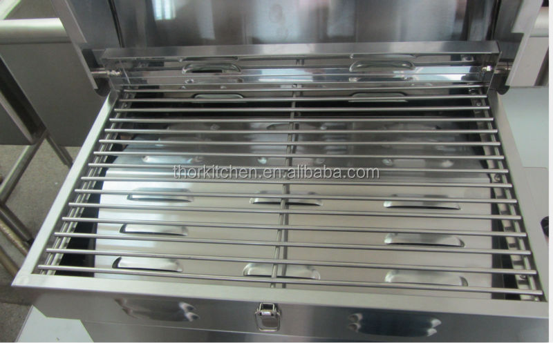Portable Stainless Steel Gas Grill With Custom Stainless Steel Grill Grates