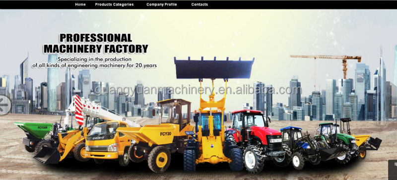 China 1t Zl10 Mini Articulated Wheel Loader