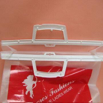 Rigid Snap Loop Handle Retail Chocolate Packaging Bags With Hard Zipper