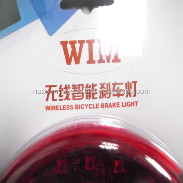 WIM BRL-101 5 LED 4-Mode Wireless Bicycle Brake Light
