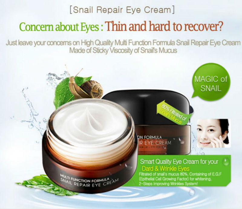 Private Brand Snail Repair Eye Cream