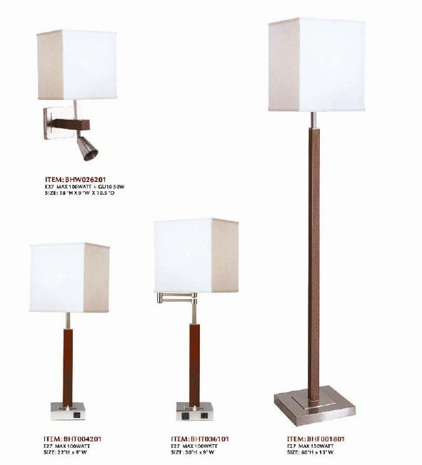 Ul Cul Bedside Table Lamp With Usb Port And Outlet For Guestroom ...