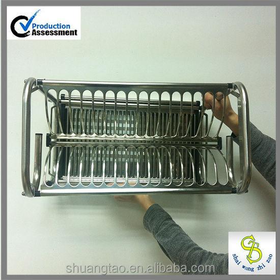 Guangzhou Manufacture Drying Plate Dish Rack, Storage Dish Rack Holder, Dinner  Plate Storage Rack