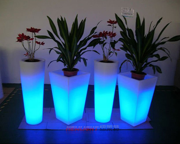 led mini plant pot led flower pot garden decoration plastic pot buy flower pot led plant pot. Black Bedroom Furniture Sets. Home Design Ideas