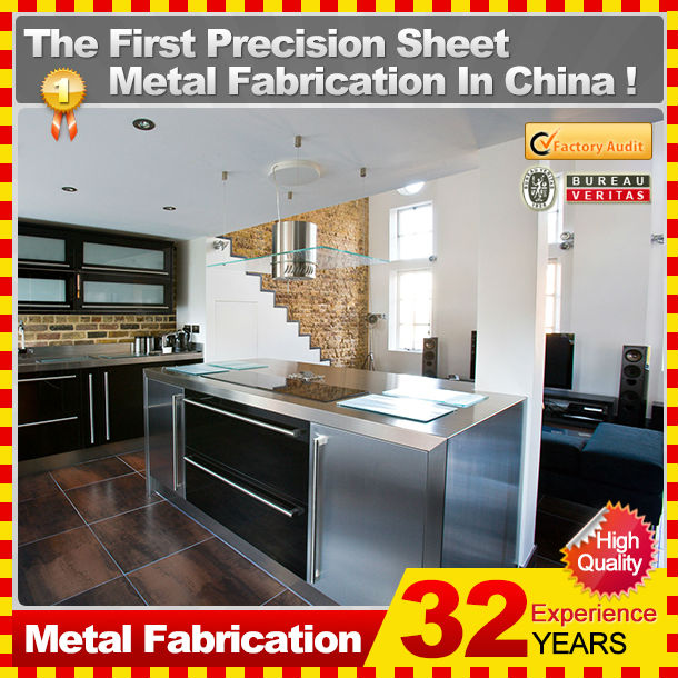 Oem Or Customized Fiberglass Kitchen Cabinets With 32-year ...