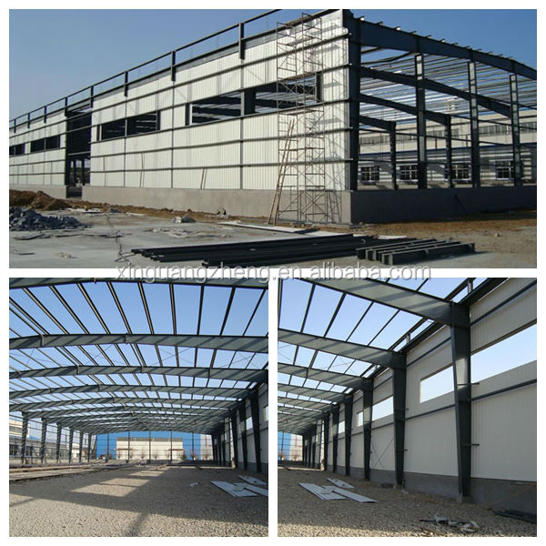 prefab structural steel warehouse