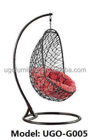 Outstanding Rain Weather Swing Chair Outdoor Patio Furniture Wicker Garden Iron Frame Buy Patio Furniture Wicker Hammocks Egg Chairs Sale Indoor Furniture Ncnpc Chair Design For Home Ncnpcorg