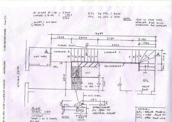Treppenhaus technische zeichnung  Technische Zeichnung Treppe – Wohn-design