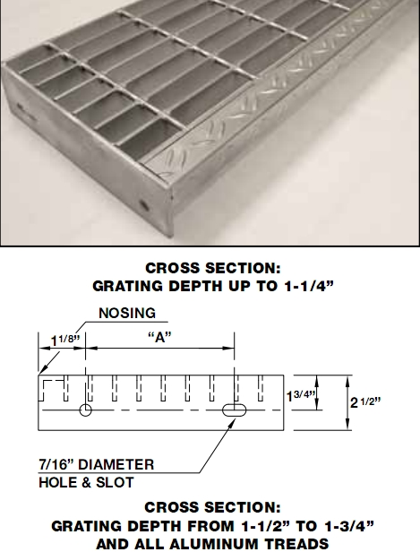Galvanized Stair Treads Galvanized Steel Grating Stair