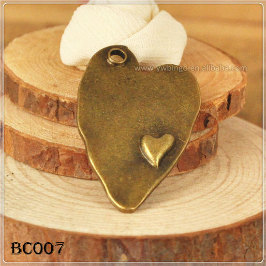 Wholesale Vintage Style Jewelry Metal Gemstone Pendant Dangle Charm For Jewelry Making