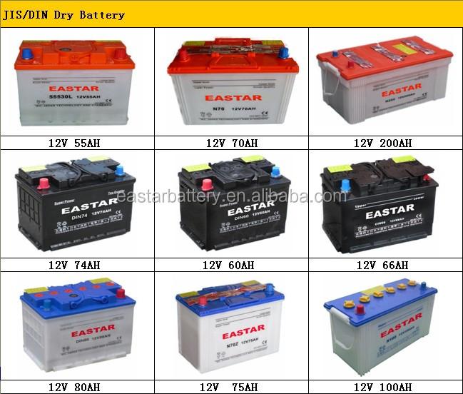 Mf 95d31l 12v 90ah Car Battery Batterie Auto Car Battery Korea With