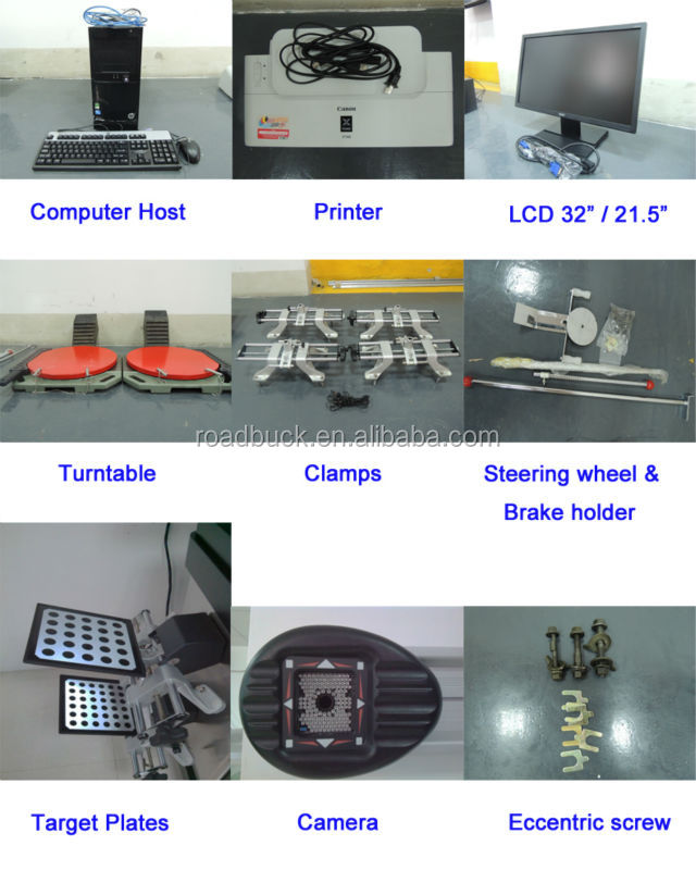 Manual Lift S780 3d Wheel Alignment Price Car Diagnostic Tool ...