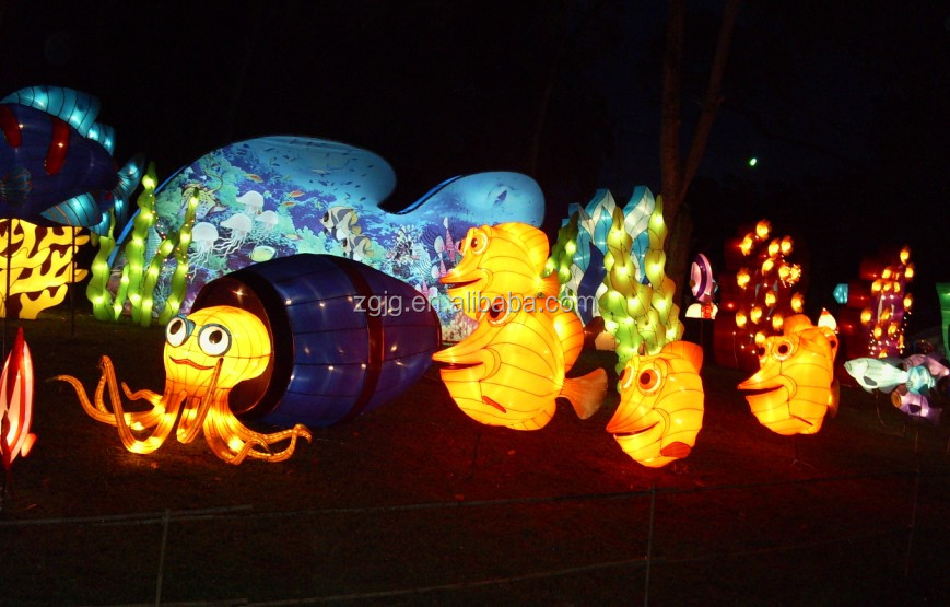 Paper Lantern Animals Fashional Events Decoration Of Chinese Paper ...