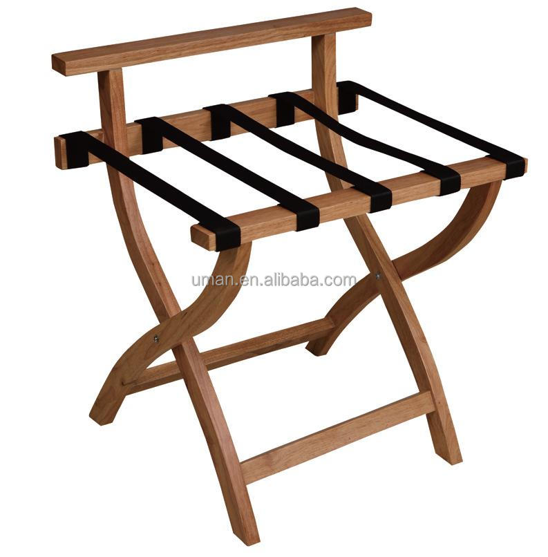 Black Wood Luggage Rack For Hotels Buy Luggage Rack For