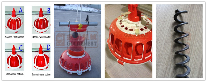 Poultry Feeders and Drinkers equipment
