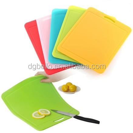 collapsible silicone cutting board/new style chopping board,