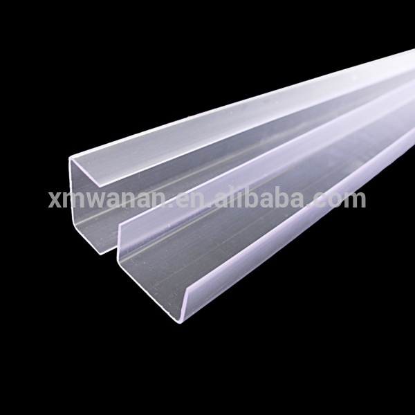 28 Mm Clear Pvc U Channel Plastic Extrusion Buy U