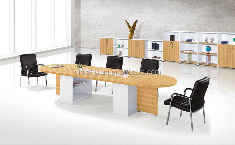 Cf 45mm Black Color Furniture Office Conference Tables