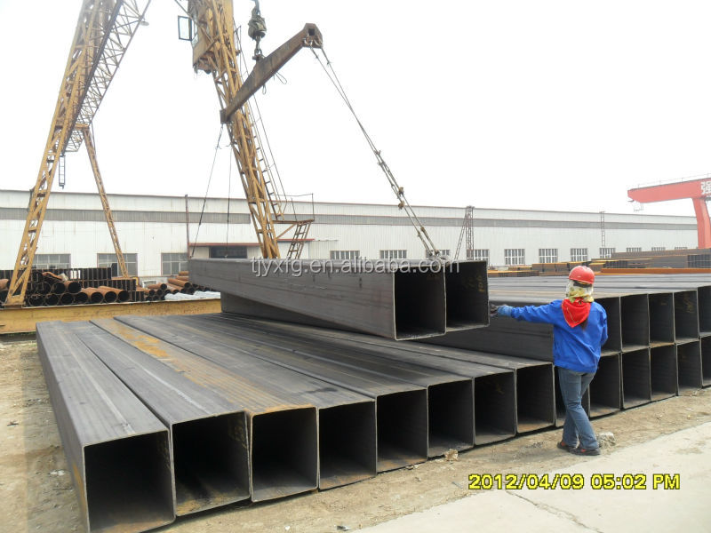 Rhs steel rectangular hollow section pipe