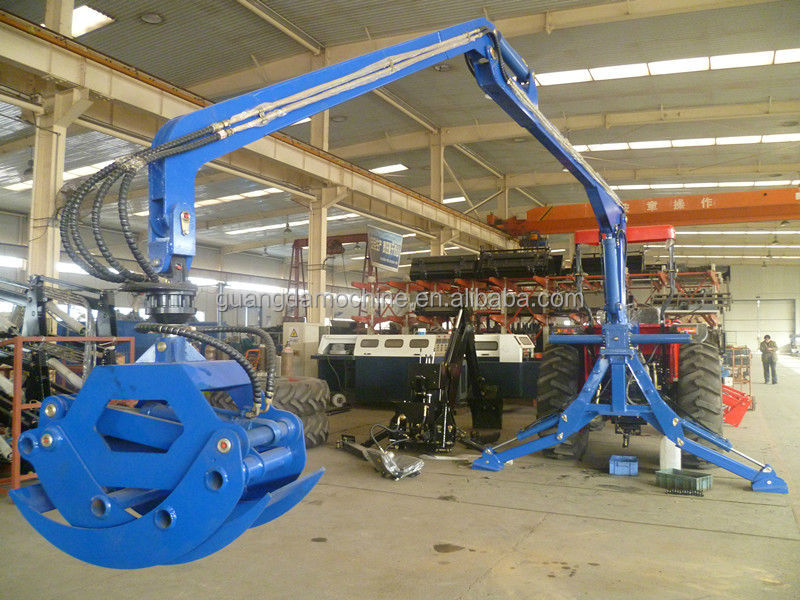 3 Point Tractor Crane : Point log grapple crane for tractor buy