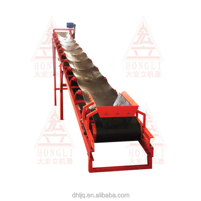 The characteristics of belt conveyor