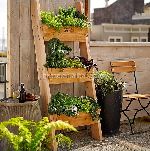 Wooden Vertical Garden Shelf Buy Outdoor Garden Shelf Garden Planter Shelf Wood Garden Flower Shelf Product On Alibaba Com