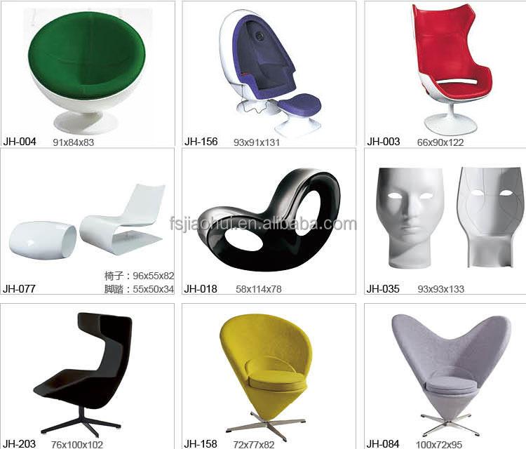 Replica designer meubels fiberglass s vorm restaurant stoel voor koop gebruikt buy product on - Meubilair loungeeetkamer ...