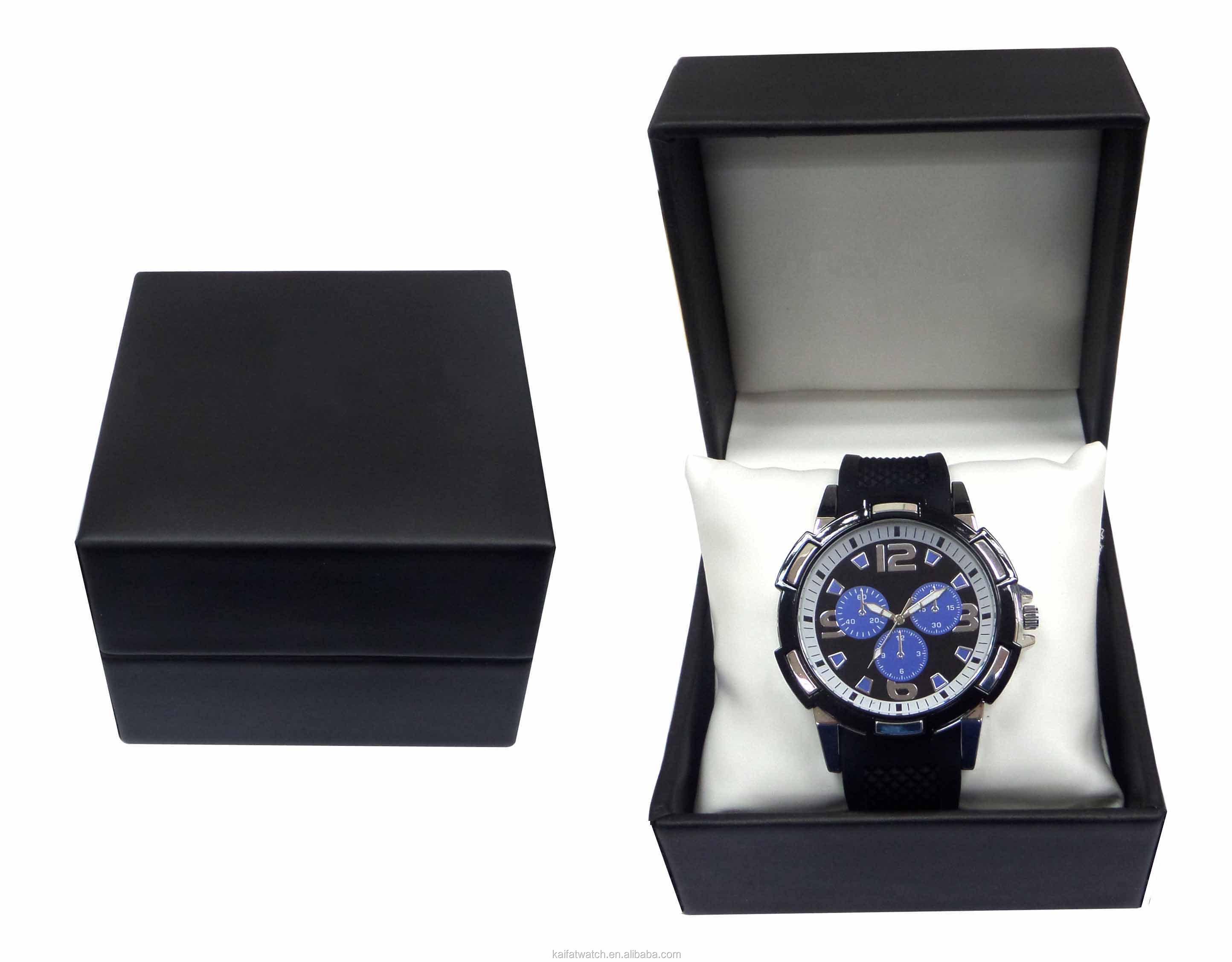 fashion design single watch box / jewelry watch leather box ...