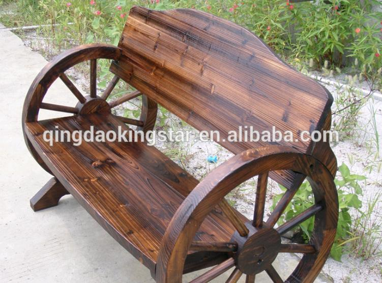 Wooden Wheel Table ~ Wagon wheel furniture the