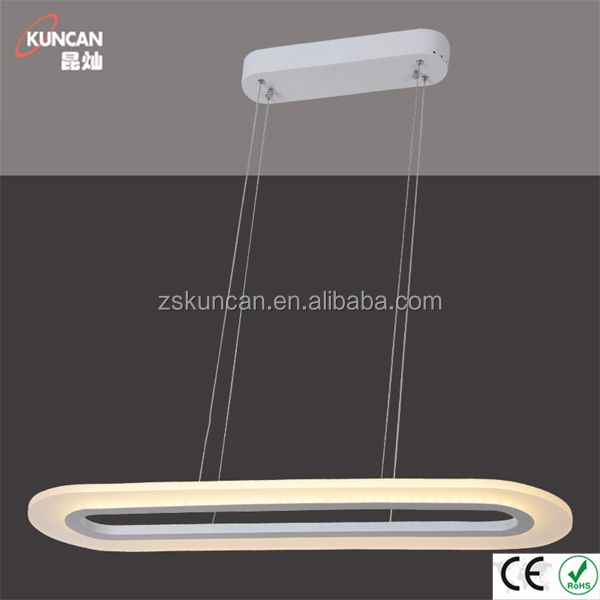 Lineal Moderno Led Luces Colgantes Para Comedor - Buy Luz Led Lineal ...