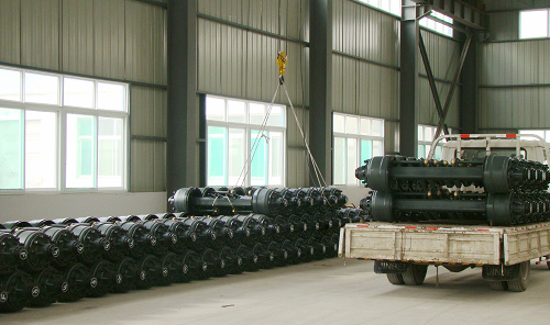 Germany Bpw Trailer Axles 12ton Trailer Axle Spindle Buggy Axles ...