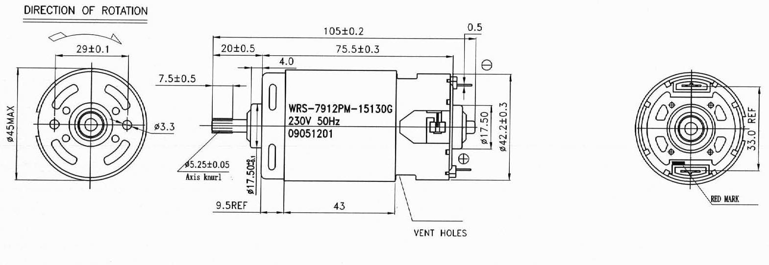 blender motor diagram