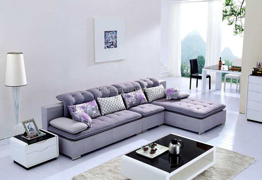 Elegant Latest Living Room Fabric Sofa Design K1208 Part 18