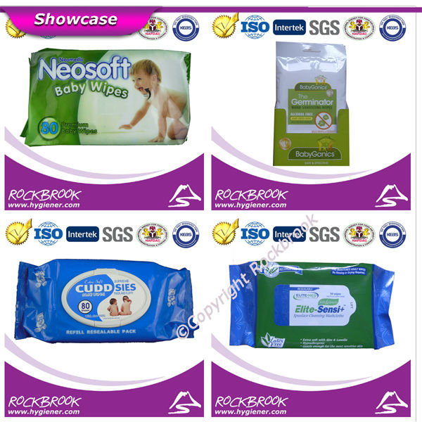 Free Sample Hot Sale High Quality Competitive Flushable Baby Wipe Manufacturer from China