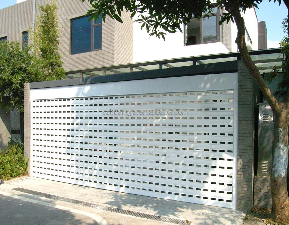 High Quality Remote Control Modern Perforated Roller Door