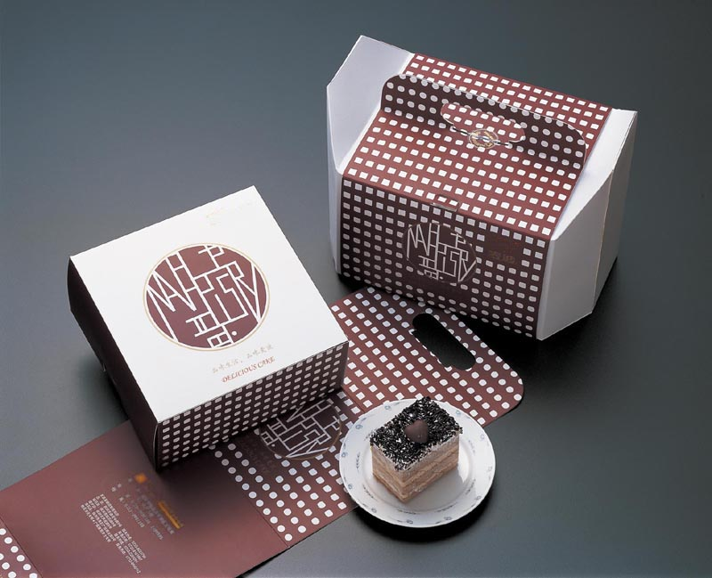 Wholesale Custom Bakery Pop Paper Cupcake Box Cake Box