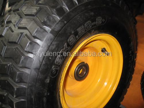 16 inch inflatable rubber wheel for boat trailer