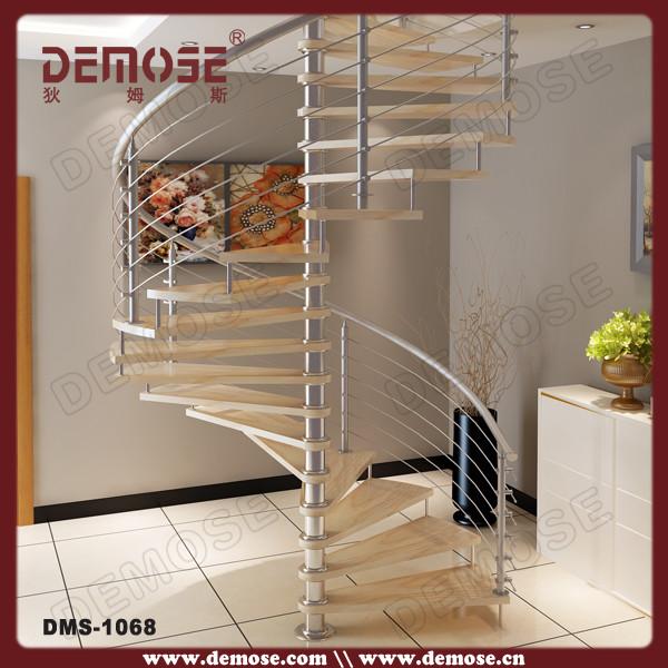 exterior espiral para madera escaleras sodimac